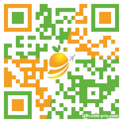 QR code with logo 1myN0