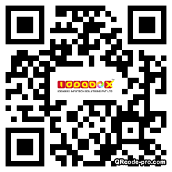 QR code with logo 1n2i0