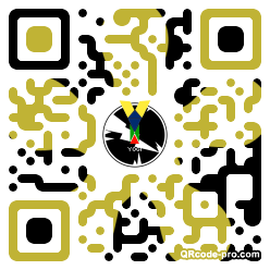 QR code with logo 1n8p0
