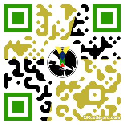 QR code with logo 1n8t0