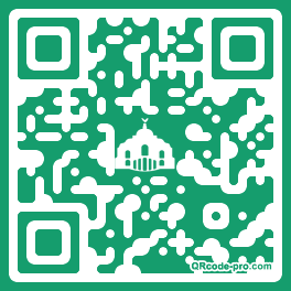 QR code with logo 1n9P0