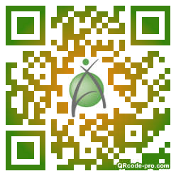 QR code with logo 1nJ20