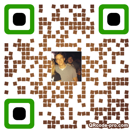 QR code with logo 1nM40