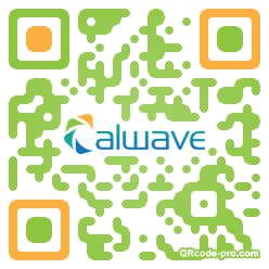 QR code with logo 1nM80