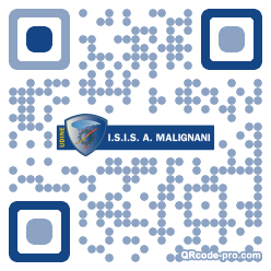 QR code with logo 1nQo0
