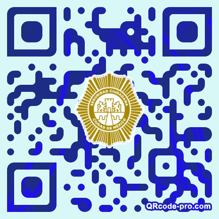 QR code with logo 1nap0