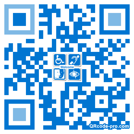 QR code with logo 1ncs0