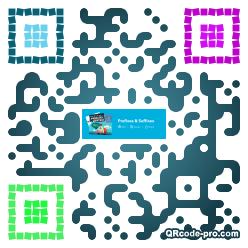 QR code with logo 1nig0