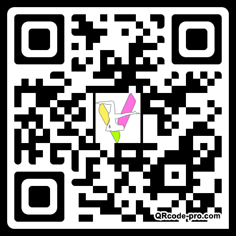 QR code with logo 1ntM0