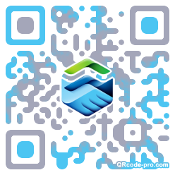 QR code with logo 1nxL0