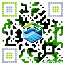 QR code with logo 1nxM0