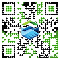 QR code with logo 1nxQ0