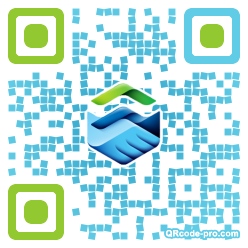 QR code with logo 1nxY0