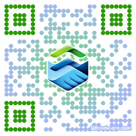 QR code with logo 1nxg0