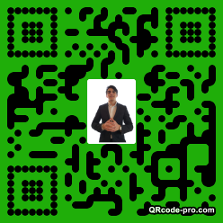 QR code with logo 1nxp0
