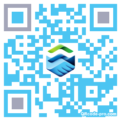 QR code with logo 1nxs0
