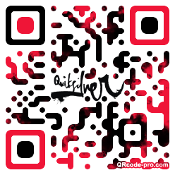 QR code with logo 1nzl0