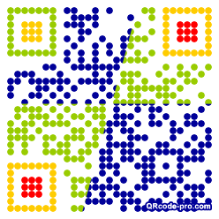 QR code with logo 1nzs0