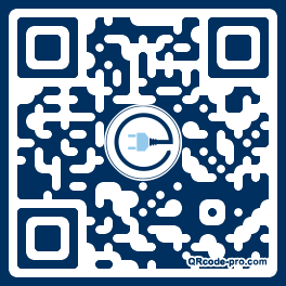 QR code with logo 1oFm0