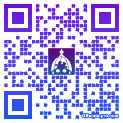 QR code with logo 1omM0