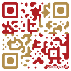 QR code with logo 1ooX0