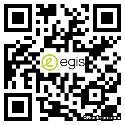 QR code with logo 1ox50