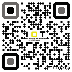 QR code with logo 1p040