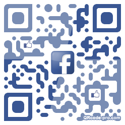 QR code with logo 1p0x0
