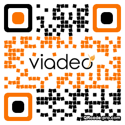 QR code with logo 1p790