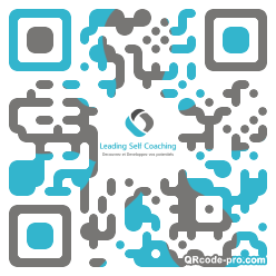 QR code with logo 1p830