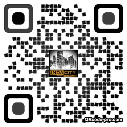 QR code with logo 1p8l0