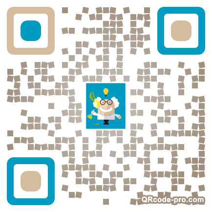 QR code with logo 1pEv0