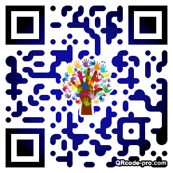QR code with logo 1pFW0
