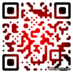 QR code with logo 1pM80