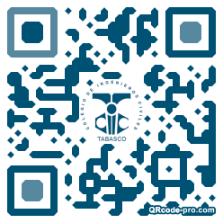 QR code with logo 1pRK0