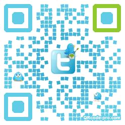 QR code with logo 1pT20