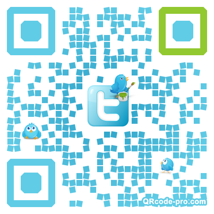 QR code with logo 1pT20