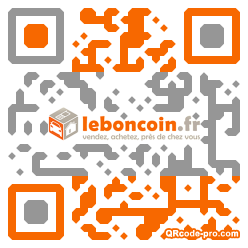 QR code with logo 1pV70