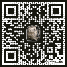 QR code with logo 1pX70
