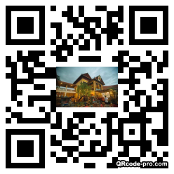 QR code with logo 1pX80