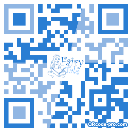 QR code with logo 1pZr0