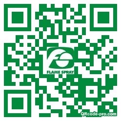 QR code with logo 1pc20