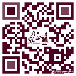 QR code with logo 1pc80