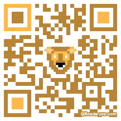 QR code with logo 1pe30