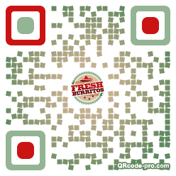 QR code with logo 1pfE0