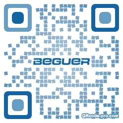 QR code with logo 1pic0