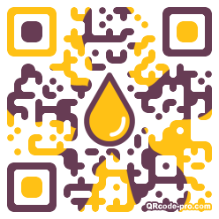 QR code with logo 1pif0