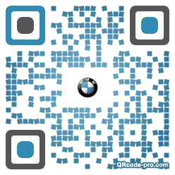 QR code with logo 1pk50
