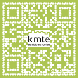 QR code with logo 1pp20