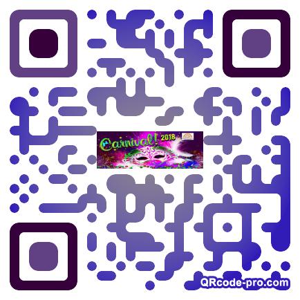 QR code with logo 1pu70